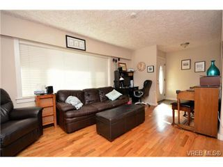 Photo 3: 3372 Shelbourne St in VICTORIA: SE Cedar Hill Half Duplex for sale (Saanich East)  : MLS®# 707040
