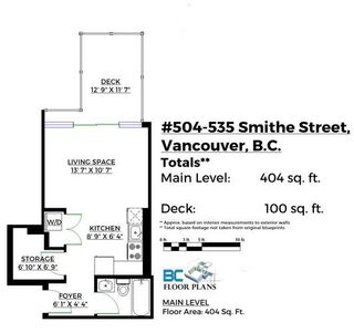 "Photo 20: 504 535 SMITHE Street in Vancouver: Downtown VW Condo for sale in ""THE DOLCE"" (Vancouver West)  : MLS®# R2116050"