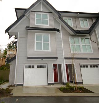 "Photo 1: 6 14450 68 Avenue in Surrey: East Newton Townhouse for sale in ""SPRING HEIGHTS"" : MLS®# R2151954"