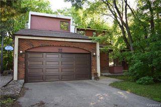 Photo 1: 22 Darwin Street in Winnipeg: St Vital Residential for sale (2C)  : MLS®# 1717042