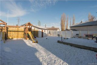 Photo 16: 103 Northcliffe Drive in Winnipeg: Canterbury Park Residential for sale (3M)  : MLS®# 1804011