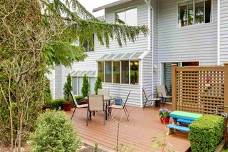 "Photo 1: 20 1235 JOHNSON Street in Coquitlam: Canyon Springs Townhouse for sale in ""CREEKSIDE PLACE"" : MLS®# R2260057"