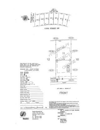Main Photo: 17516 110 Street in Edmonton: Zone 27 Vacant Lot for sale : MLS®# E4136793