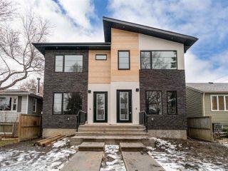 Main Photo: 9708 69 Avenue in Edmonton: Zone 17 House Half Duplex for sale : MLS®# E4137993