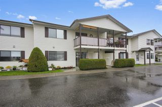 "Photo 1: 22 7455 HURON Street in Sardis: Sardis West Vedder Rd Townhouse for sale in ""Ascott Estates"" : MLS®# R2414272"
