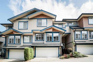 "Photo 1: 38 14462 61A Avenue in Surrey: Sullivan Station Townhouse for sale in ""Ravina"" : MLS®# R2508568"