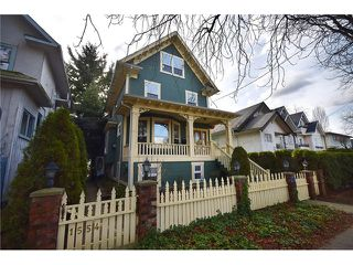 "Photo 1: 1552 E 10TH Avenue in Vancouver: Grandview VE House for sale in ""COMMERCIAL DRIVE"" (Vancouver East)  : MLS®# V1049158"