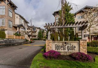 "Photo 1: 17 5839 PANORAMA Drive in Surrey: Sullivan Station Townhouse for sale in ""Forest Gate"" : MLS®# R2046887"