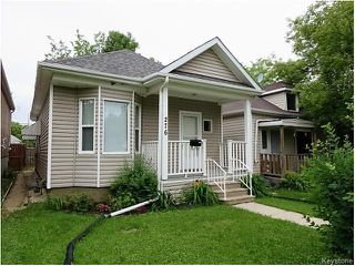 Photo 1: 276 Collegiate Street in Winnipeg: St James Residential for sale (West Winnipeg)  : MLS®# 1615770