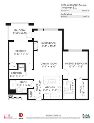 """Photo 16: 225 738 E 29TH Avenue in Vancouver: Fraser VE Condo for sale in """"CENTURY"""" (Vancouver East)  : MLS®# R2146306"""