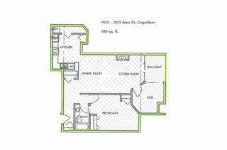 "Main Photo: 415 2915 GLEN Drive in Coquitlam: North Coquitlam Condo for sale in ""GLENBOROUGH"" : MLS®# R2246750"