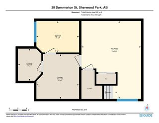 Photo 29: 28 Summerton Street: Sherwood Park House for sale : MLS®# E4150491