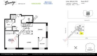 "Photo 18: 2605 888 HOMER Street in Vancouver: Downtown VW Condo for sale in ""THE BEASLEY"" (Vancouver West)  : MLS®# R2360569"