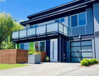 Photo 1: 490 South Joffre Street in VICTORIA: Es Saxe Point Half Duplex for sale (Esquimalt)  : MLS®# 412054