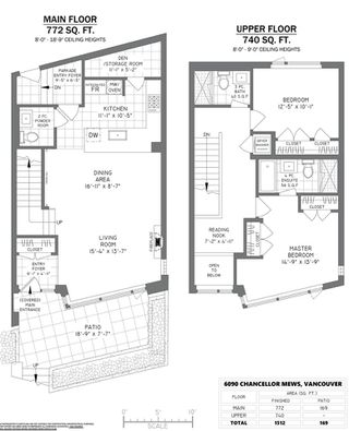 Photo 30: 6090 CHANCELLOR Mews in Vancouver: University VW Townhouse for sale (Vancouver West)  : MLS®# R2478910