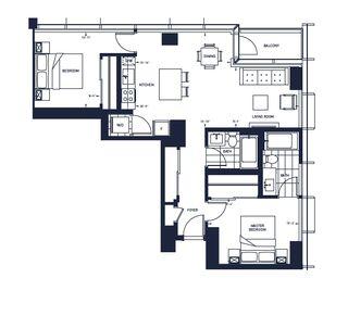 Photo 3: 4707 10310 102 Street in Edmonton: Zone 12 Condo for sale : MLS®# E4221008