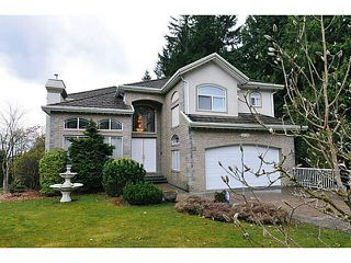 Photo 1: 1739 HAMPTON Drive in Coquitlam: Westwood Plateau House for sale : MLS®# V1053792