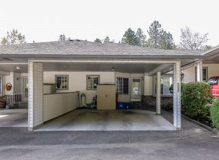 "Photo 1: 21 3351 HORN Street in Abbotsford: Central Abbotsford Townhouse for sale in ""EVANSBROOK"" : MLS®# R2008657"