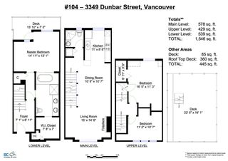 """Photo 15: 104 3349 DUNBAR Street in Vancouver: Dunbar Townhouse for sale in """"DUNBAR"""" (Vancouver West)  : MLS®# R2199168"""