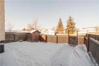Photo 17: 238 Devonshire Drive in Winnipeg: Kildonan Meadows Residential for sale (3K)  : MLS®# 1731107