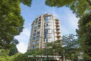 "Photo 1: 701 1736 W 10TH Avenue in Vancouver: Fairview VW Condo for sale in ""MONTE CARLO"" (Vancouver West)  : MLS®# R2268278"