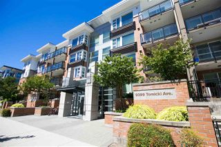 Main Photo: 411 9399 TOMICKI Avenue in Richmond: West Cambie Condo for sale : MLS®# R2329134