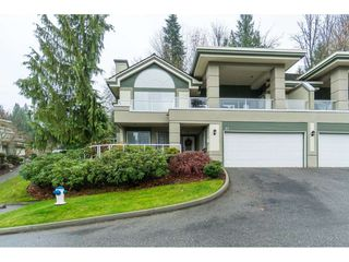 "Photo 1: 87 4001 OLD CLAYBURN Road in Abbotsford: Abbotsford East Townhouse for sale in ""Cedar Springs"" : MLS®# R2419759"