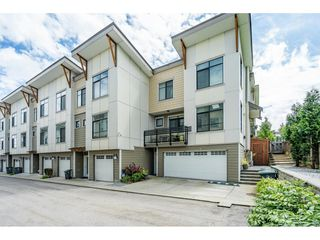 "Photo 1: 97 9989 BARNSTON Drive in Surrey: Fraser Heights Townhouse for sale in ""Highcrest"" (North Surrey)  : MLS®# R2477034"