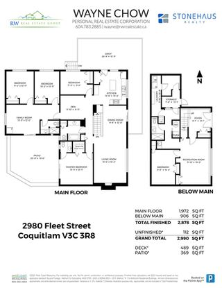Photo 40: 2980 FLEET Street in Coquitlam: Ranch Park House for sale : MLS®# R2512369