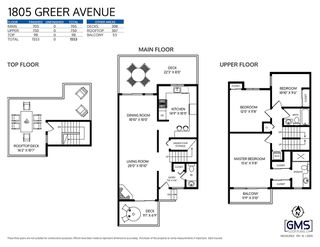 Photo 36: 1805 GREER AVENUE in Vancouver: Kitsilano Townhouse for sale (Vancouver West)  : MLS®# R2512434