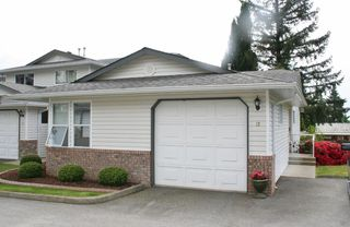 "Photo 1: 12 32861 SHIKAZE Court in Mission: Mission BC Townhouse for sale in ""Cherry Lane"" : MLS®# R2173355"