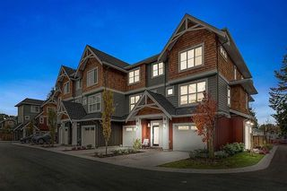 "Photo 1: 18 2150 SALISBURY Avenue in Port Coquitlam: Glenwood PQ Townhouse for sale in ""Salisbury Walk"" : MLS®# R2228302"