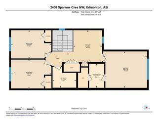Photo 23: 2408 SPARROW Crescent in Edmonton: Zone 59 House Half Duplex for sale : MLS®# E4143277