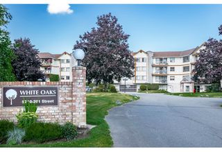 "Photo 1: 312 5710 201 Street in Langley: Langley City Condo for sale in ""WHITE OAKS"" : MLS®# R2387162"