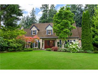 "Photo 1: 2163 179TH Street in Surrey: Hazelmere House for sale in ""REDWOOD PARK"" (South Surrey White Rock)  : MLS®# F1438151"