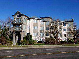 "Photo 1: 102 32725 GEORGE FERGUSON Way in Abbotsford: Abbotsford West Condo for sale in ""Uptown"" : MLS®# R2226698"