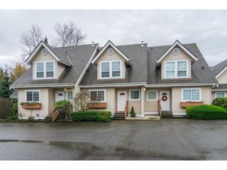 "Photo 1: 2 19948 WILLOUGHBY Way in Langley: Willoughby Heights Townhouse for sale in ""Cranbrook Court"" : MLS®# R2324566"