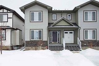Photo 1: 104 RICHMOND Link: Fort Saskatchewan House Half Duplex for sale : MLS®# E4141429
