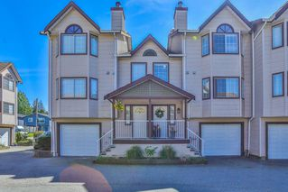 Photo 1: 3 2352 PITT RIVER ROAD in Port Coquitlam: Mary Hill Townhouse for sale : MLS®# R2369177