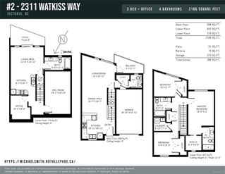 Photo 35: 2 2311 Watkiss Way in : VR Hospital Row/Townhouse for sale (View Royal)  : MLS®# 860411