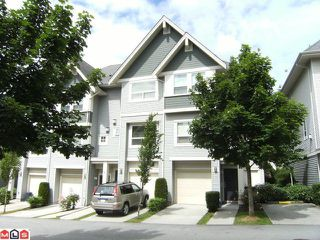 """Photo 1: 48 15065 58TH Avenue in Surrey: Sullivan Station Townhouse for sale in """"SPRINGHILL"""" : MLS®# F1116779"""