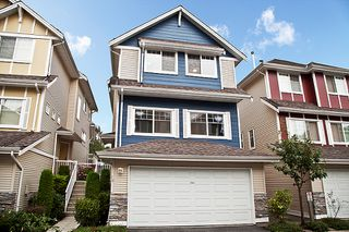 Photo 1: 16 1108 Riverside Close in Port Coquitlam: Riverwood Townhouse for sale : MLS®# v981541