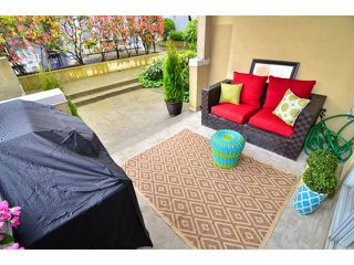 """Photo 6: 101 1860 W 6TH Avenue in Vancouver: Kitsilano Townhouse for sale in """"Heritage on Cypress"""" (Vancouver West)  : MLS®# V1058606"""