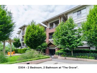 """Photo 1: D304 8929 202ND Street in Langley: Walnut Grove Condo for sale in """"THE GROVE"""" : MLS®# F1414965"""