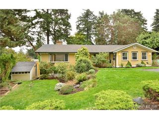 Photo 1: 4559 Seawood Terr in VICTORIA: SE Gordon Head House for sale (Saanich East)  : MLS®# 685268