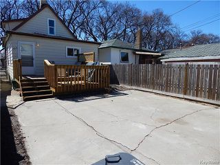 Photo 17: 815 Boyd Avenue in Winnipeg: North End Residential for sale (North West Winnipeg)  : MLS®# 1609014