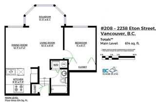 """Photo 15: 208 2238 ETON Street in Vancouver: Hastings Condo for sale in """"Eton Heights"""" (Vancouver East)  : MLS®# R2121109"""