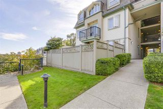 "Photo 2: 102 219 BEGIN Street in Coquitlam: Maillardville Townhouse for sale in ""PLACE FOUNTAINE BLEU"" : MLS®# R2206798"