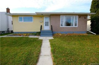Photo 1: 836 Polson Avenue in Winnipeg: Sinclair Park Residential for sale (4C)  : MLS®# 1727647