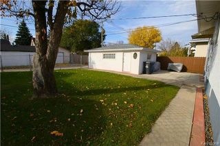 Photo 18: 836 Polson Avenue in Winnipeg: Sinclair Park Residential for sale (4C)  : MLS®# 1727647